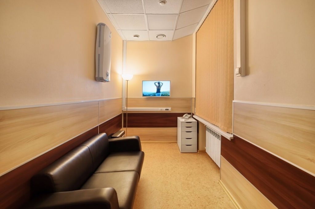 Комната для сдачи биоматериала Клиники МАМА